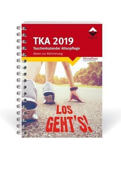 Taschenkalender Altenpflege 2019 -