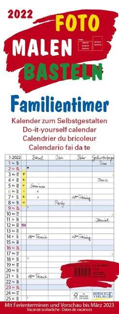 Foto-Malen-Basteln Familientimer 2022 -