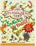 Die Schule der magischen Tiere - Endlich Pause! Das große Rätselbuch - Nikki Busch, Margit Auer