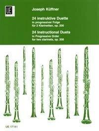 24 instruktive Duette - Joseph Küffner