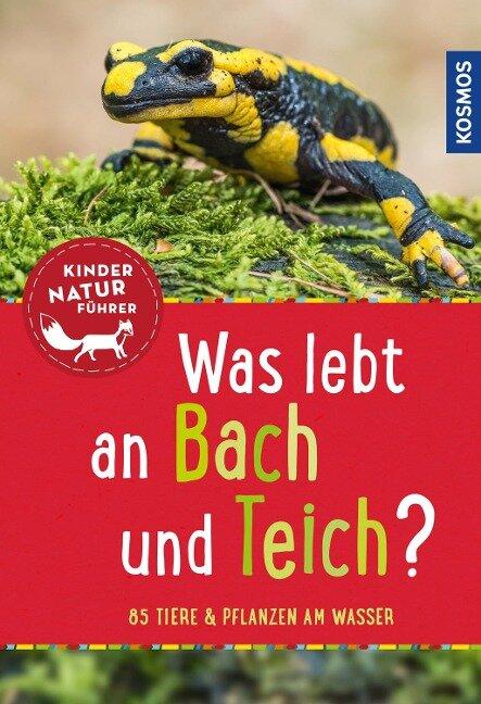 Was lebt an Bach und Teich? Kindernaturführer - Anita van Saan