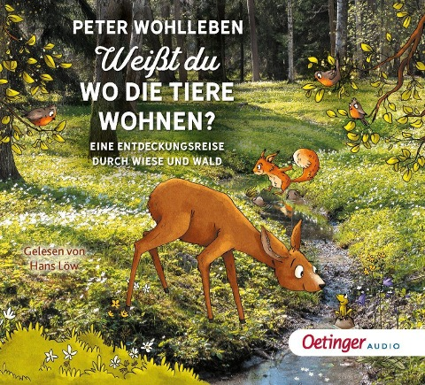 Weißt du, wo die Tiere wohnen? - Peter Wohlleben