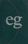 Evangelisches Gesangbuch. Ausgabe für die Landeskirchen Rheinland, Westfalen und Lippe. Taschenausgabe grün -