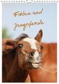 Fohlen und Jungpferde (Wandkalender 2018 DIN A4 hoch) - Barbara Mielewczyk