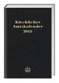 Kirchlicher Amtskalender 2018 - schwarz -