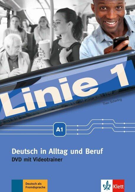 Linie 1 A1 - Deutsch in Alltag und Beruf: DVD - Theo Scherling