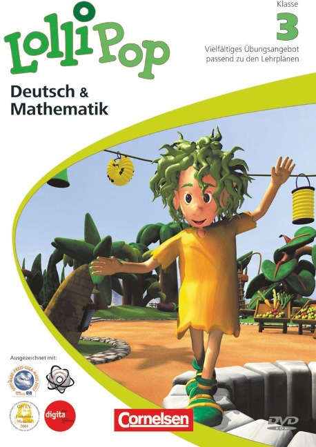 LolliPop Multimedia - Deutsch/Mathematik 3. Schuljahr -