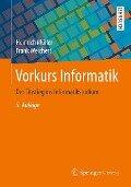 Vorkurs Informatik - Heinrich Müller, Frank Weichert