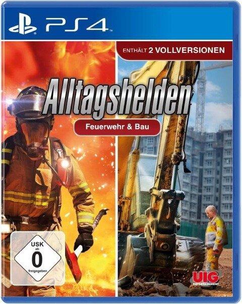 Bundle Alltagshelden - Berufsfeuerwehr & Bau (PlayStation PS4) -