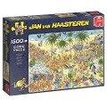 Jan van Haasteren - Die Oase - 1500 Teile Puzzle -