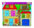 Eichhorn Steckpuzzle, Entdeckerhaus 11 Teile -