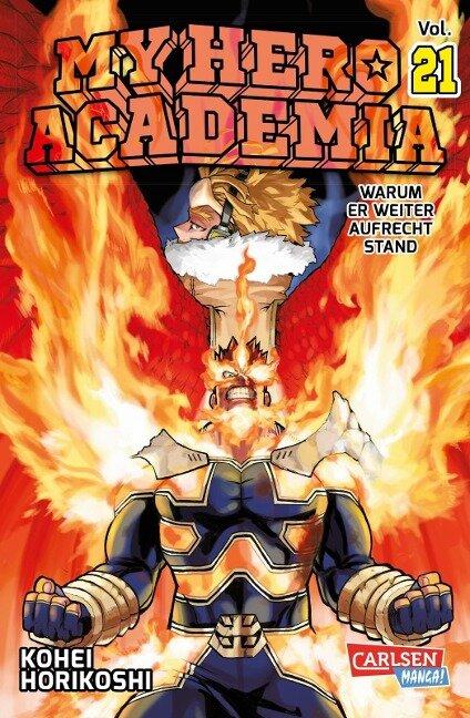 My Hero Academia 21 - Kohei Horikoshi
