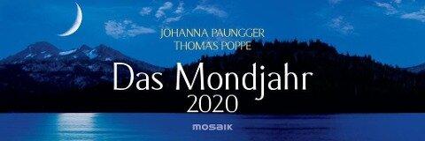 Das Mondjahr 2020 Wochenkalender - Johanna Paungger, Thomas Poppe
