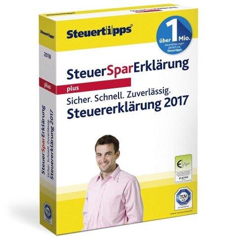SteuerSparErklärung Plus 2018 -