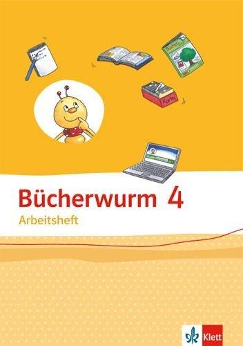 Bücherwurm Sprachbuch. Arbeitsheft 4. Schuljahr -