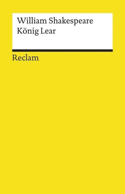 König Lear - William Shakespeare