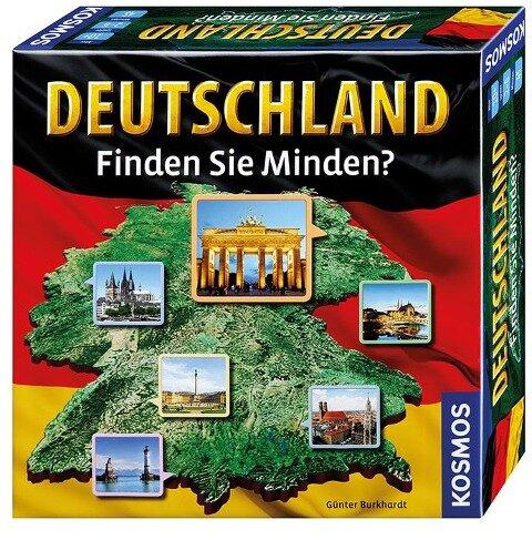 Deutschland - Finden Sie Minden? - Günter Burkhardt