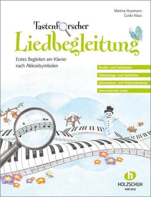 Tastenforscher Liedbegleitung - Martina Hussmann, Guido Klaus