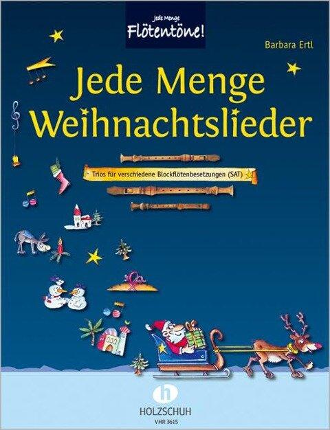 Jede Menge Weihnachtslieder - Barbara Ertl