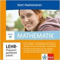 Klett Mathetrainer. 10. Schuljahr. CD-ROM für Windows 2000/7/Vista/XP -