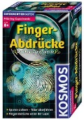 Kosmos Finger-Abdrücke -