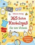 365 Seiten Knobelspaß für den Urlaub - Phillip Clarke