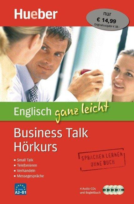 Englisch ganz leicht Business Talk Hörkurs - Barry Baddock, Susie Vrobel, Karen Richardson