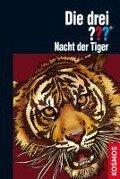 Die drei ??? Nacht der Tiger (drei Fragezeichen) - Marco Sonnleitner