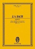 Singet dem Herrn ein neues Lied - Johann Sebastian Bach