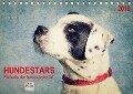 Hundestars - Portraits der besonderen Art (Tischkalender 2018 DIN A5 quer) Dieser erfolgreiche Kalender wurde dieses Jahr mit gleichen Bildern und aktualisiertem Kalendarium wiederveröffentlicht. - Angela Dölling