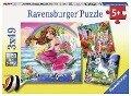 Welt der Fabelwesen Puzzle 3 x 49 Teile -