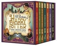 Harry Potter. Die große Box zum Jubiläum. Alle 7 Bände. - J. K. Rowling