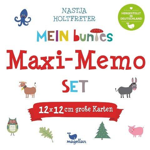 Mein buntes Maxi-Memo-Set -
