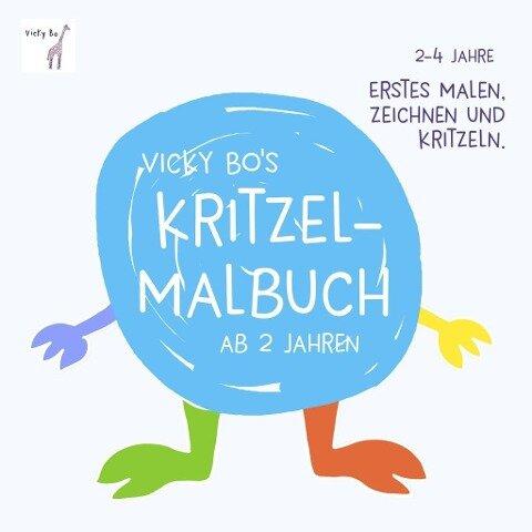 Vicky Bo's Kritzel-Malbuch - Vicky Bo
