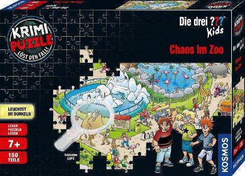 Krimipuzzle ??? Kids 150 Teile / Chaos im Zoo -