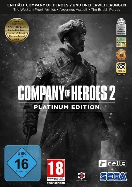 Company of Heroes 2 Platinum Edition. Für Windows Vista/7/8/8.1/10 -