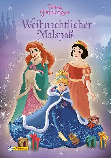 Disney Prinzessin: Weihnachtlicher Malspaß -