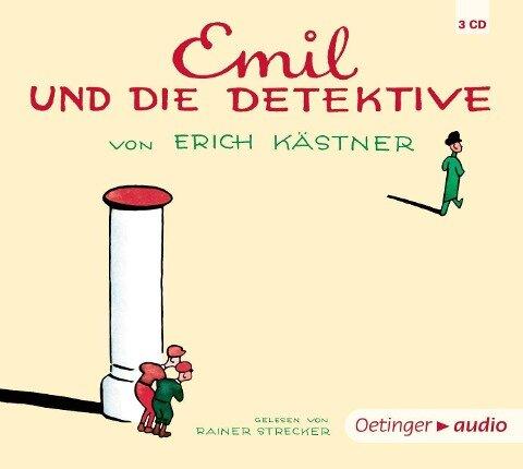 Emil und die Detektive - Erich Kästner, Jan-Peter Pflug