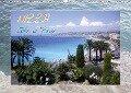 Nizza, Côte d'Azur (Wandkalender 2018 DIN A3 quer) - Elinor Lavende
