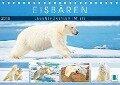 Eisbären: Lebenskünstler im Eis (Tischkalender 2019 DIN A5 quer) - K. A. Calvendo