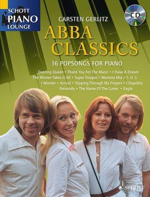 Abba Classics. Klavier. Ausgabe mit CD -