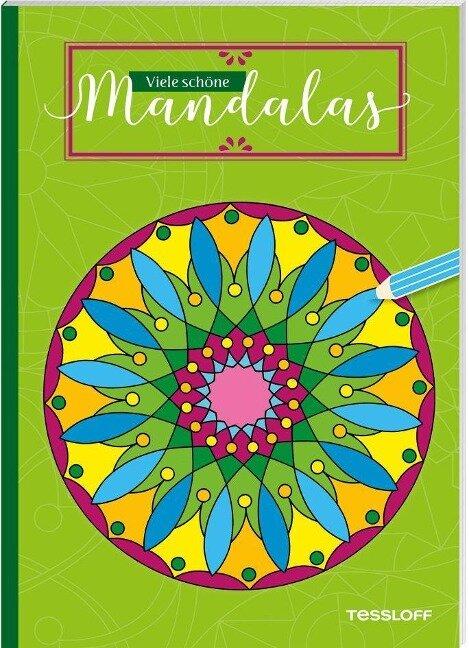 Viele schöne Mandalas. Für Kinder ab 5 Jahren -