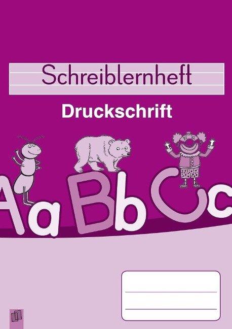 Schreiblernheft Druckschrift - Lena Morgenthau