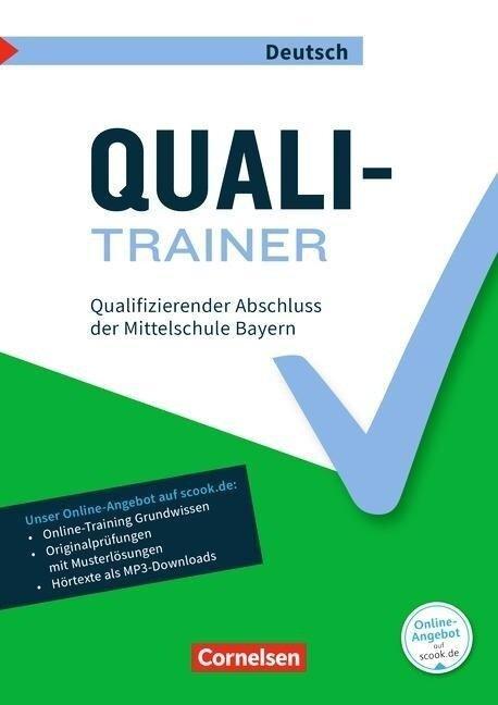 Abschlussprüfungstrainer Deutsch 9. Jahrgangsstufe - Bayern- Quali-Trainer - Claudia Heidenreich, Werner Heidenreich