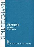 Concerto à 4 Flauti C-Dur - Georg Philipp Telemann