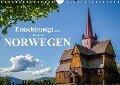 Entschleunigt ... reisen durch Norwegen (Wandkalender 2019 DIN A4 quer) - Dirk Sulima