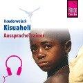 Reise Know-How Kauderwelsch AusspracheTrainer Kisuaheli - Christoph Friedrich