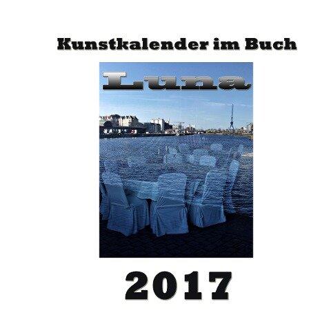 Kunstkalender im Buch - Luna 2017 - Pierre Sens