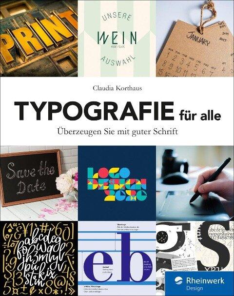 Typografie für alle - Claudia Korthaus