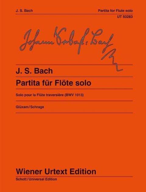 Partita a-Moll für Flöte solo - Johann Sebastian Bach